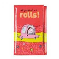 Porte-papiers voiture Rolls - rouge