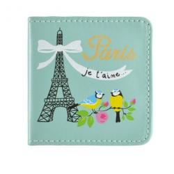 Miroir de poche CEKOUR Paris je t'aime - bleu