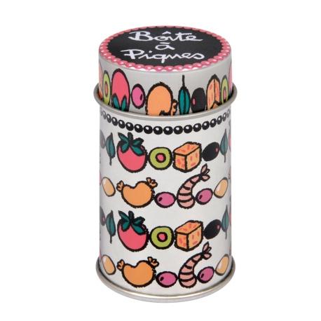 Boite à Piques (garnie) Farandole - multicolore