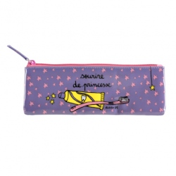 Trousse à brosse à dents RAY Princesse - rose/violet