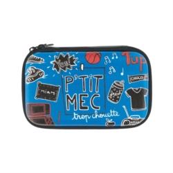 Porte-passeport ETUDE En voyage - bleu. Pochette à console DS Game over -  bleu 78efd016ee0