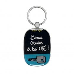 Porte-clés OPAT La clé - gris