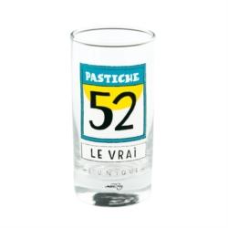 Verre BALISE Pastiche - bleu/jaune