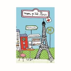 Magnet ISA Mon p'tit Paris BLEU