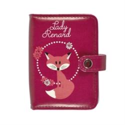 Porte-cartes FOLK Lady renard