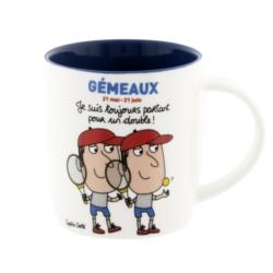 Mug LEMAN (+ boite) Gémeaux