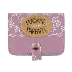 Porte-cartes FOLK Madame plus que parfaite