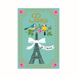 Magnet ISA Paris je t'aime BLEU