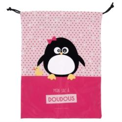 Sac à Doudou ZEN Pingouin