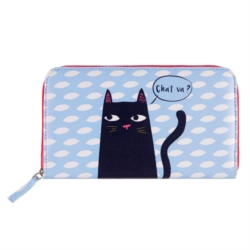 Portefeuille COMPAGNON Black cat
