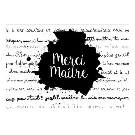 Magnet ISA Merci maître (tableau)