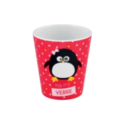 Gobelet LOUISE antidérapant Pingouin fille