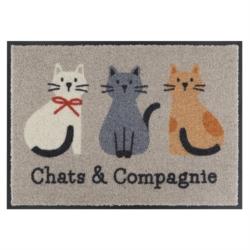 Tapis de patio LEMIYO Chats et compagnie