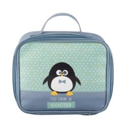 Sac à goûter isotherme LIANE Pingouin garçon