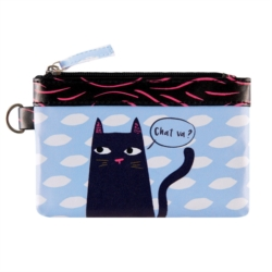 Porte-monnaie PAT Black cat