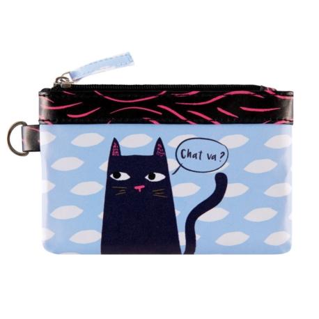 porte monnaie pat black cat