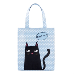 Sac à courses isotherme MONA Black cat