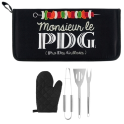 Kit d'accessoires BARBECUE Mr le Pdg