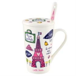 Mug (+ couvercle et cuillère) BUNNY Paris Alma