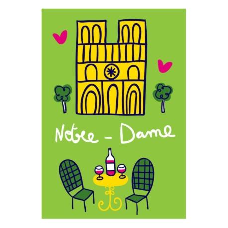 Magnet ISA Notre-Dame