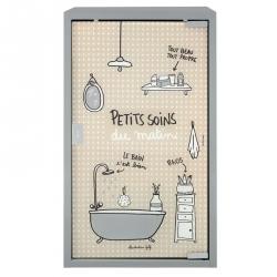 Armoire de toilette GM Petits soins du matin