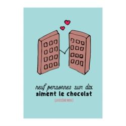 Magnet ISA Chocolat