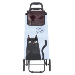 Poussette vinyle Black cat