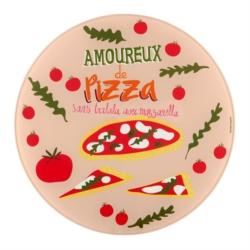 Plat à pizza (+ roulette) PATA Amoureux