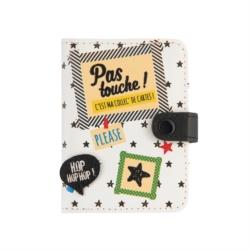Porte-cartes FOLK Pas touche