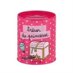 Tirelire PECULE Princesse losange