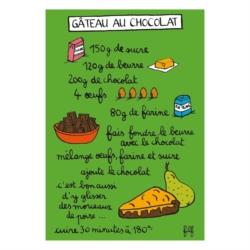 Magnet ISA Gâteau au chocolat