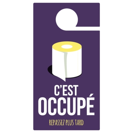 Porte Occupé Cest Occupé - Accroche porte