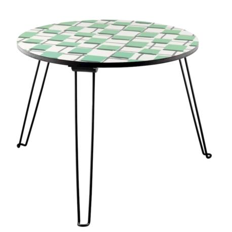 table basse pliable partout les copains gris. Black Bedroom Furniture Sets. Home Design Ideas