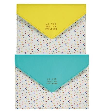 Trousse enveloppe (set de 2) MYTAILOR En couleurs