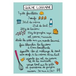 Magnet ISA Quiche Lorraine