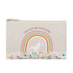 Trousse de toilette MARGO Licorne enchantée