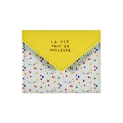 Porte-cartes DORIS En couleurs
