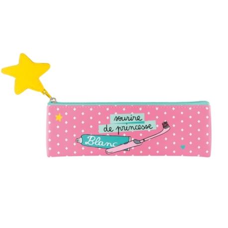 Trousse à brosse à dents RAY Princesse losange