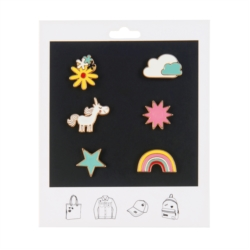 Pin's FLOYD (assortiment de 6) Licorne enchantée