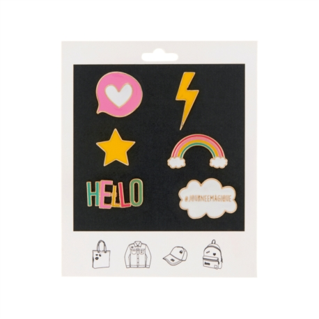 Pin's FLOYD (assortiment de 6) Hello