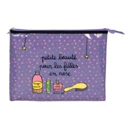 Trousse de toilette CELIA Petite beauté - violet