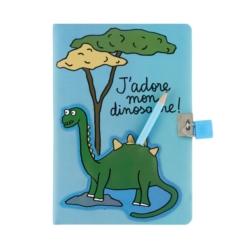 Carnet intime AMY (+cadenas et crayon) Mon dinosaure