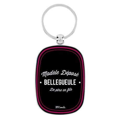 Porte-clés OPAT Argent Belle Gueule