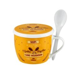 Bol à soupe PERMAN (+ couvercle) Sans modération