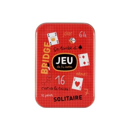 Boite à Cartes à jouer (54 cartes) Bridge