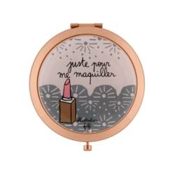 Miroir de poche LAURENCE Cuivré Juste filf