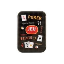 Boite à Cartes à jouer (54 cartes) Poker