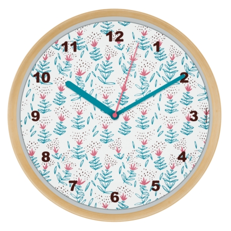 Horloge CHRONOS Fleuri