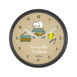 Horloge CHRONOS Tranquille mimine