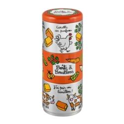 Boite à Cubes Bouillons (empilable) Au parfum